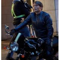 Hannibal Tv Serial Mads Mikkelsen Jacket | Distressed Black Jackets