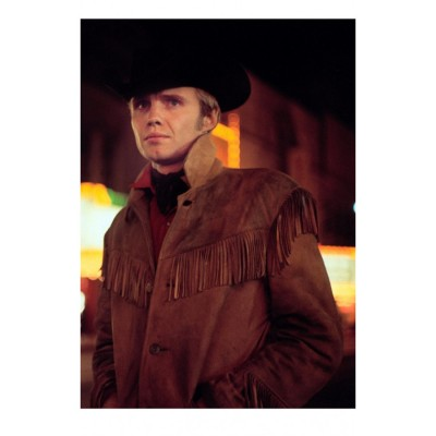 Midnight Cowboy Joan Voight  Leather Jacket | Distressed Jackets