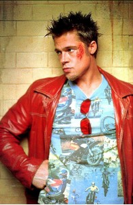 Brad Pitt Red Leather Jacket | Mens Red Jackets