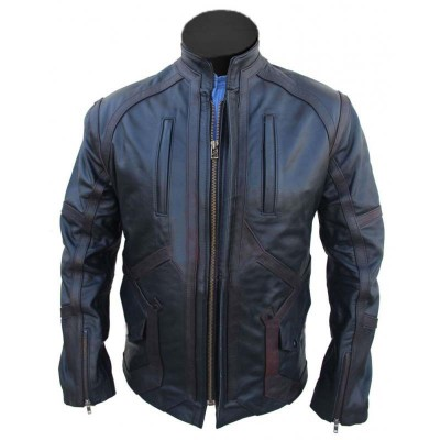 Bucky Barnes Sebastian Stan Jacket | Black Leather Jacket