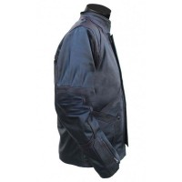 Bucky Barnes Sebastian Stan Jacket | Black Leather Jacket