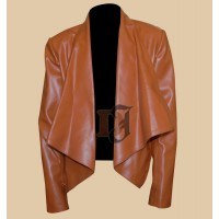 Women's 2 Broke Girls Beth Behrs Leather Jacket | Women Jackets