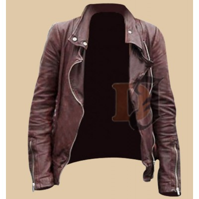 Once Upon A Time Leather Jacket S2 | Women Brown Jacket