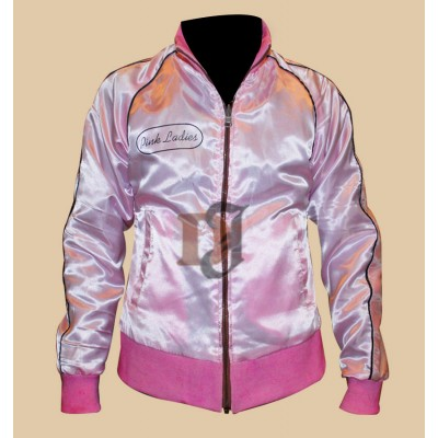 Pink Ladies Grease 2 Reversible Satin Jacket | Reversible Jackets
