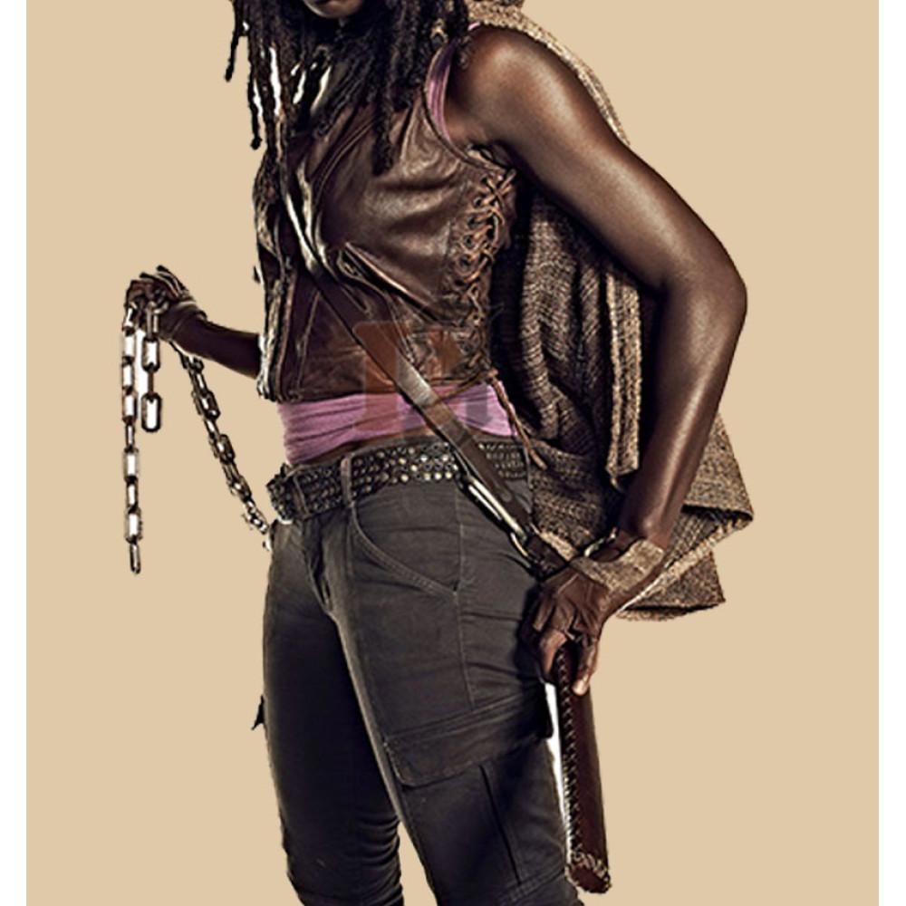 The Walking Dead Season 4 Danai Gurira Vest | Movies Women Vest