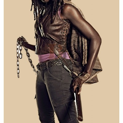 The Walking Dead Season 4 Danai Gurira Vest | Movies Women Vest