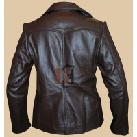 Bedtime Stories Keri Russell Brown Jacket | Women Leather Jackets