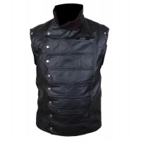 The Winter Soldier Bucky Barnes Leather jacket | Movie Jackets