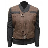 Star Wars Rogue One Jyn Erso Rebel Women Jacket Costume | Rebel Costume For Women's