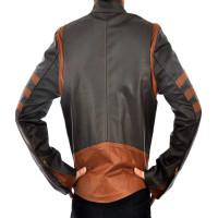 Xmen Wolverine Logans Men's Vintage Classic Leather Jacket | Leather Jacket For Men's