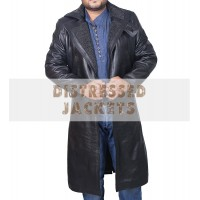 Blade Runner Ryan Gosling 2049  Black Leather Coat | Black Long Coat