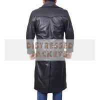 Blade Runner Ryan Gosling 2049  Black Leather Coat | Black Long Coat