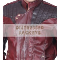 Guardians of The Galaxy Vol 2  Jackets | Men's Red Leather Jackets