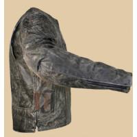 Volcano Men's NF-8150 Distressed Leather Motorcycle Jacket | Biker jackets Men's