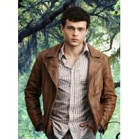 Beautiful Creatures Ethan Wate (Alden Ehrenreich) Brown Leather Jacket