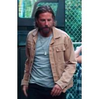Jackson Maine A Star Is Born Bradley Cooper Cotton Brown Jacket
