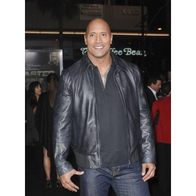 WWE Dwayne Johnson Leather Jacket For Sale | Wrestler Jackets