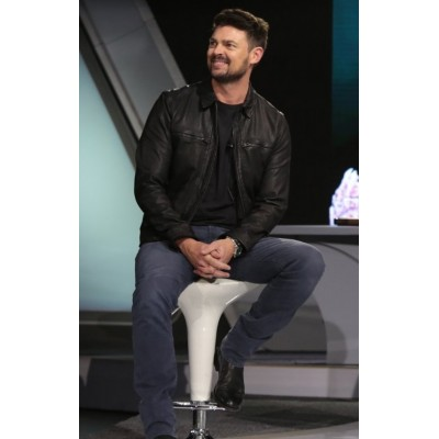 Star Trek Beyond Karl Urban Leather Jacket | Celebrities Black Jackets