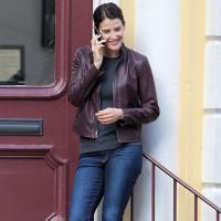 Jack Reacher Cobie Smulders Leather Jacket | Celebrities Jackets